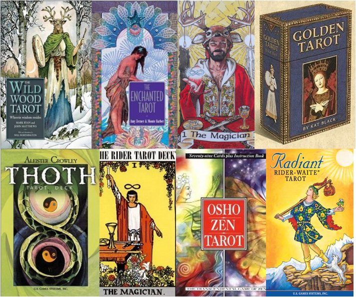Choosing a tarot deck