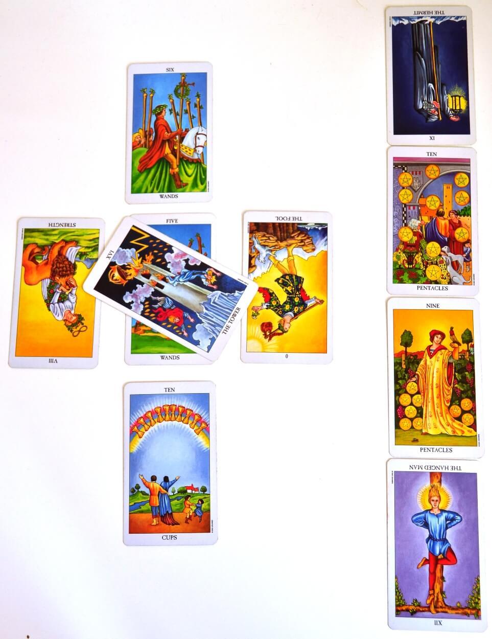 Celtic Cross Tarot Reading interpretation
