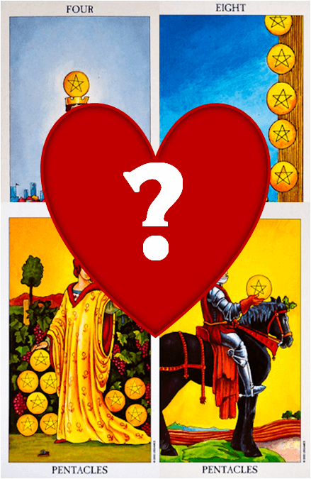 pentacles love tarot reading