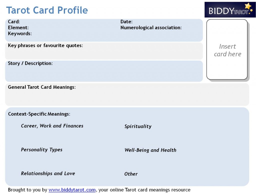 tarot-card-profile-template