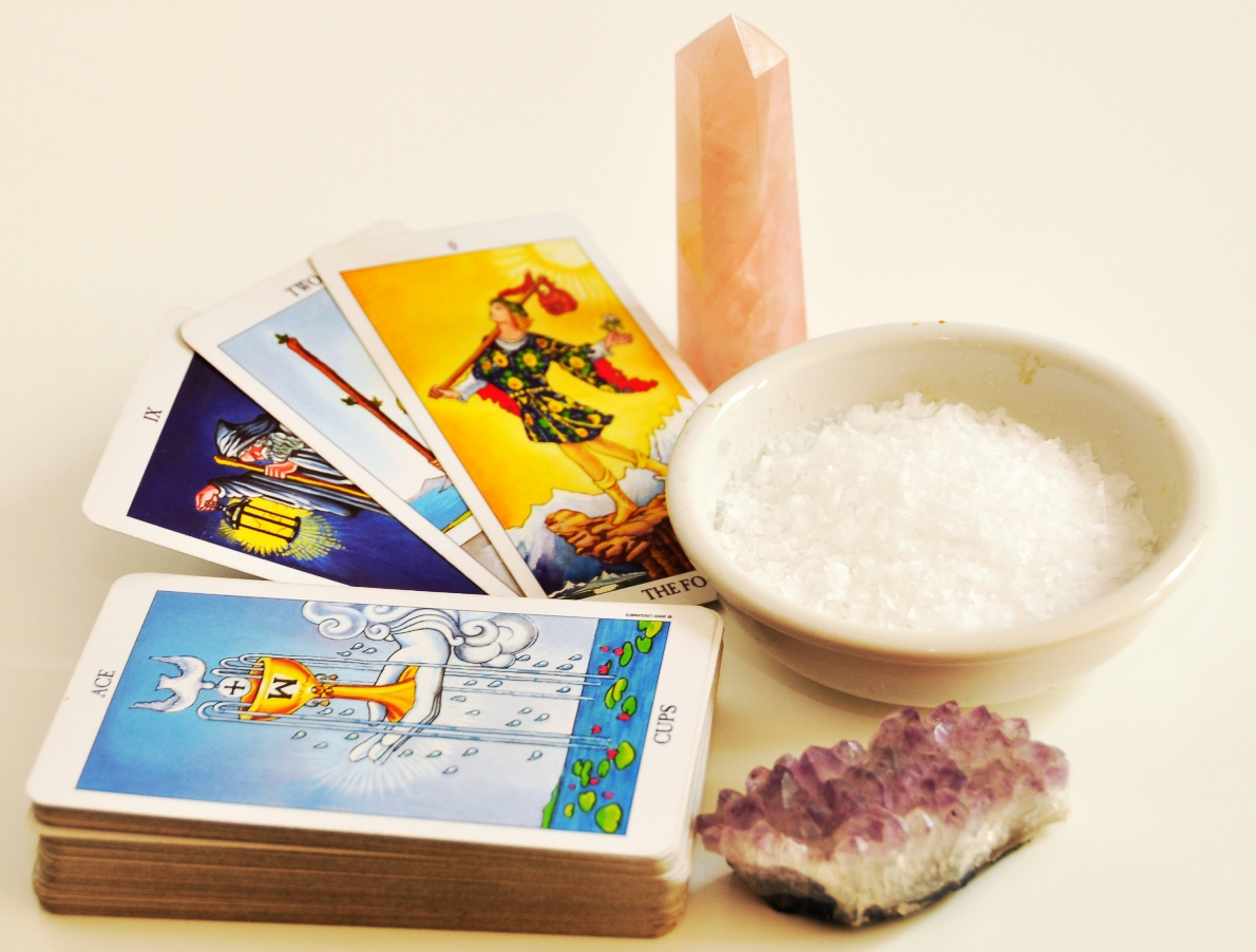 Cleanse Tarot Card