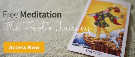 Free Meditation with Fool Tarot Card