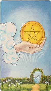 Ace of Pentacles Tarot Card Meanings