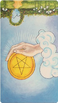 Ace of Pentacles Tarot Card Meanings tarot card meaning