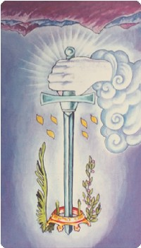 Ace of Swords Tarot Card Meanings tarot card meaning