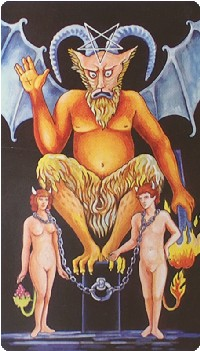 Devil Tarot Card Meanings tarot card meaning