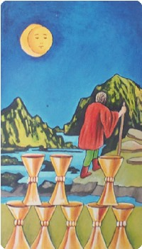 cảm nhận Eight of Cups