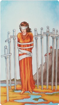 Eight of Swords Tarot Card Meanings