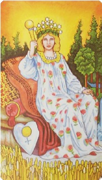 Empress Tarot Card Meanings tarot card meaning