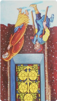 Five of Pentacles Tarot Card Meanings tarot card meaning