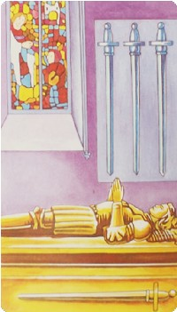 Four of Swords Tarot Card Meanings