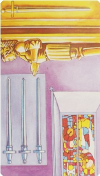 Four of Swords Tarot Card Meanings tarot card meaning