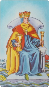 King of Cups Tarot Card Meanings