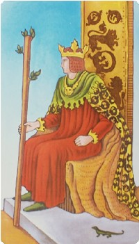 King of Wands Tarot Card Meanings tarot card meaning