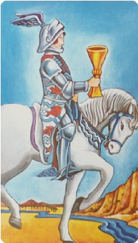 Knight of Cups Tarot Card Meanings tarot card meaning