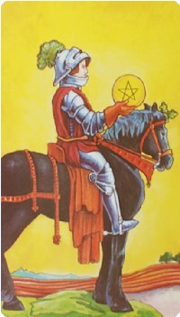 Knight of Pentacles Tarot Card Meanings