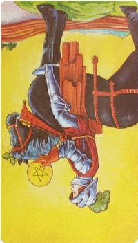 Knight of Pentacles Tarot Card Meanings tarot card meaning
