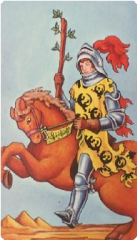 Knight of Wands Tarot Card Meanings tarot card meaning