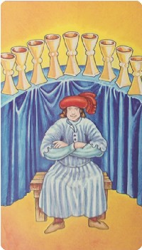Nine of Cups Tarot Card Meanings tarot card meaning