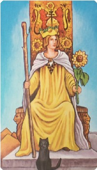 Queen of Wands Tarot Card Meanings tarot card meaning