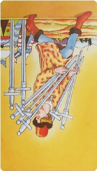 Seven of Swords Tarot Card Meanings tarot card meaning
