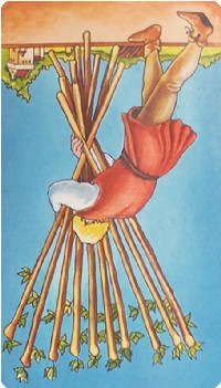 Ten of Wands Tarot Card Meanings tarot card meaning