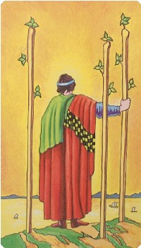 Three of Wands Tarot Card Meanings tarot card meaning
