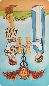 Two of Cups Tarot Card Meanings tarot card meaning