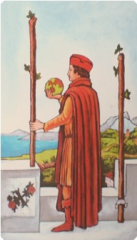 cảm nhận Two of Wands