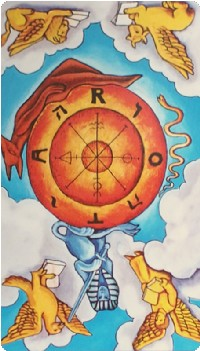 Wheel of Fortune Tarot Card Meanings tarot card meaning