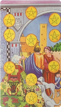 Ten of Pentacles