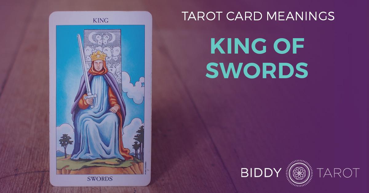 King of Swords Tarot Card Meanings | Biddy Tarot