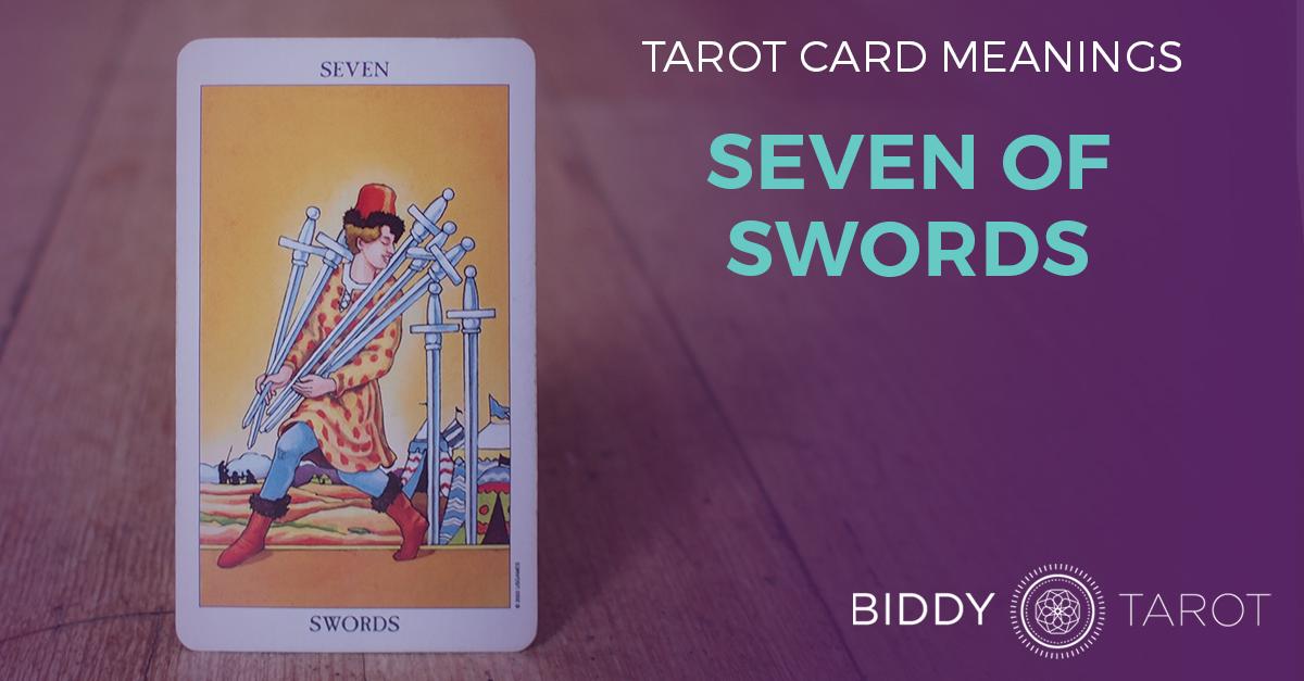 Seven of Swords Tarot Card Meanings | Biddy Tarot
