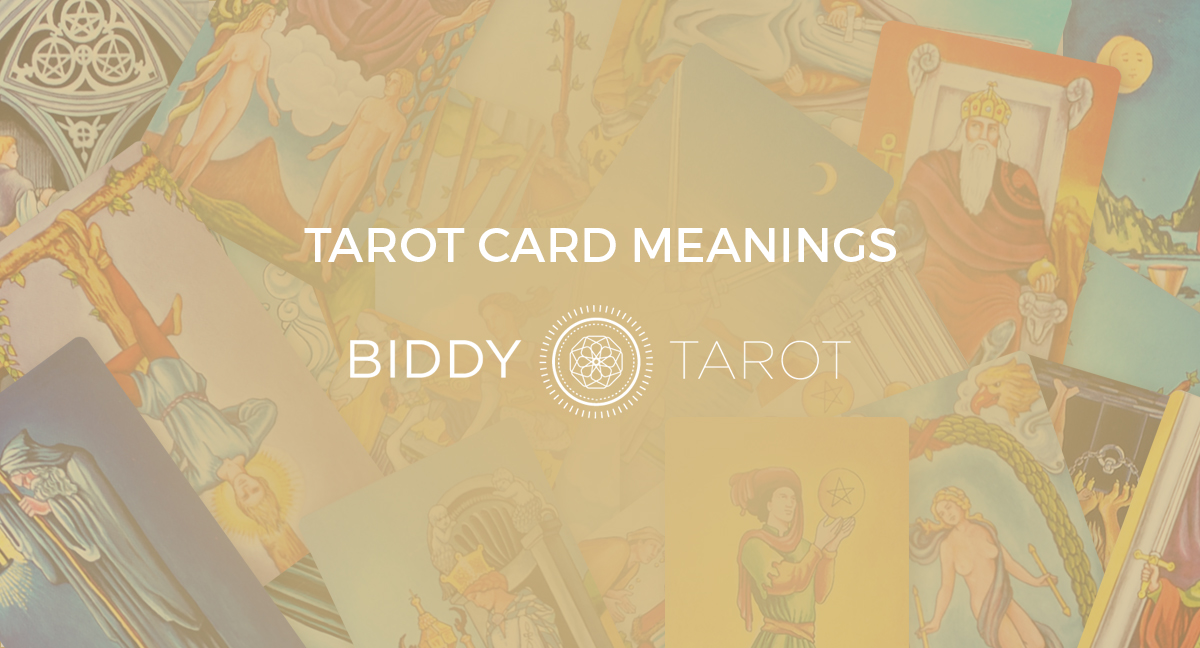picture regarding Printable Tarot Cards With Meanings Pdf titled Study the Tarot Card Meanings Biddy Tarot