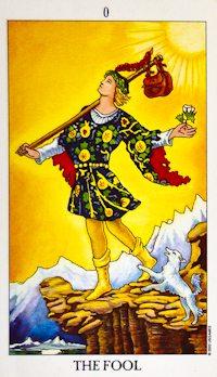 Fool Tarot Card