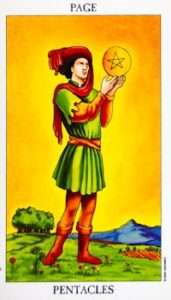 page_pentacles