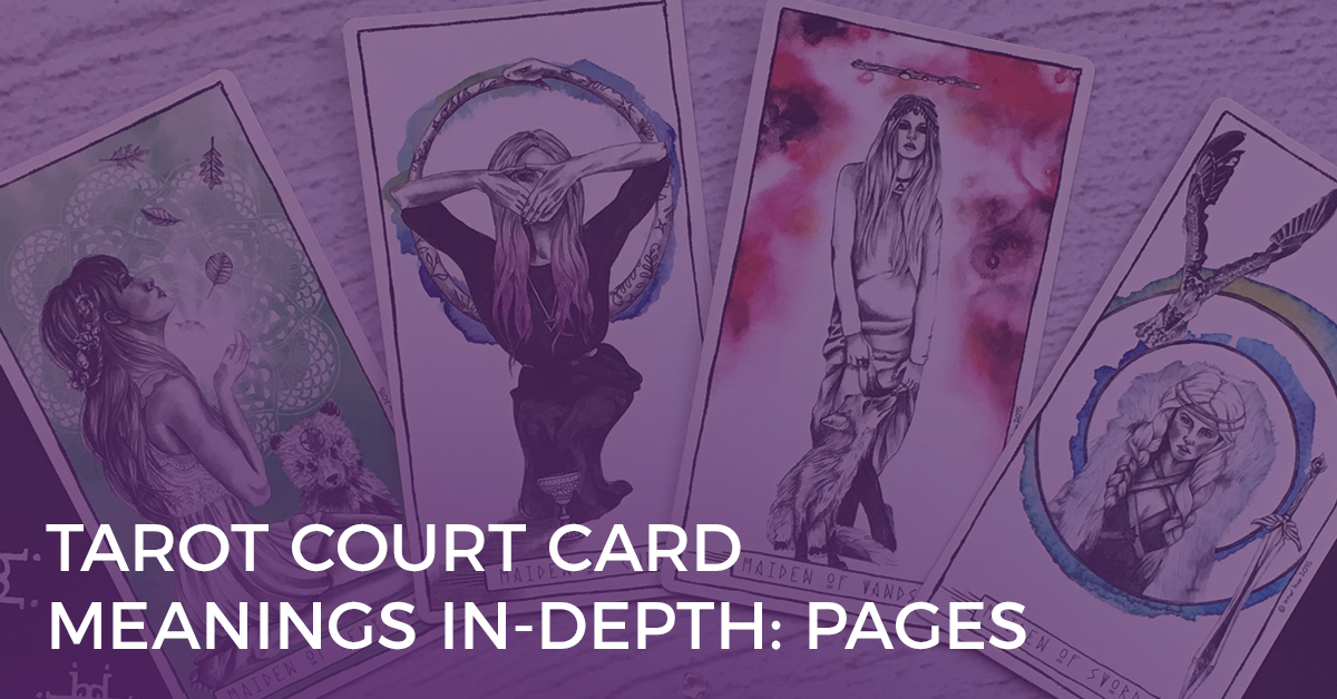 Tarot Courd Card Meanings - Pages