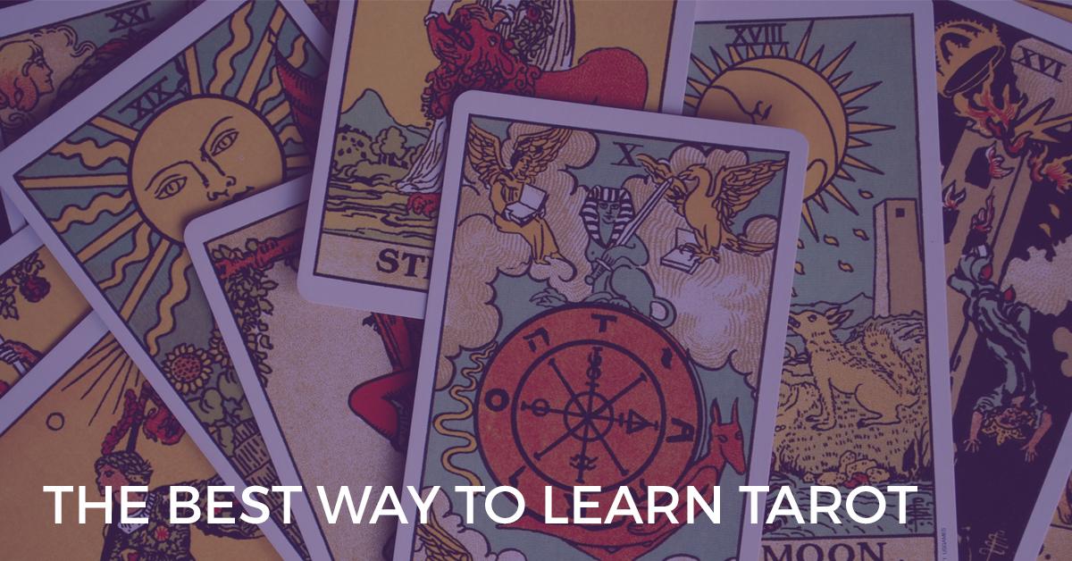 The Best Way To Learn Tarot Biddytarot Blog