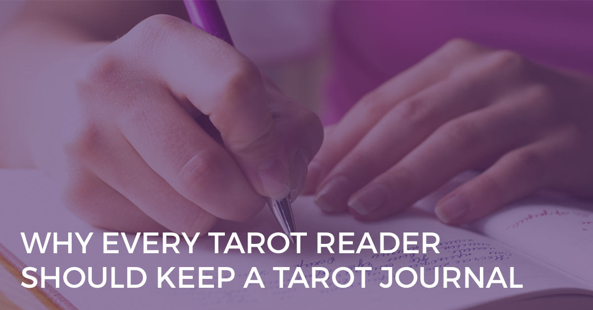 why every tarot reader should keep a tarot journal