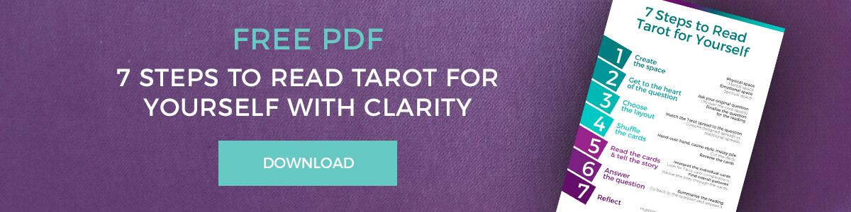 7 steps to read tarot for yourself pdf