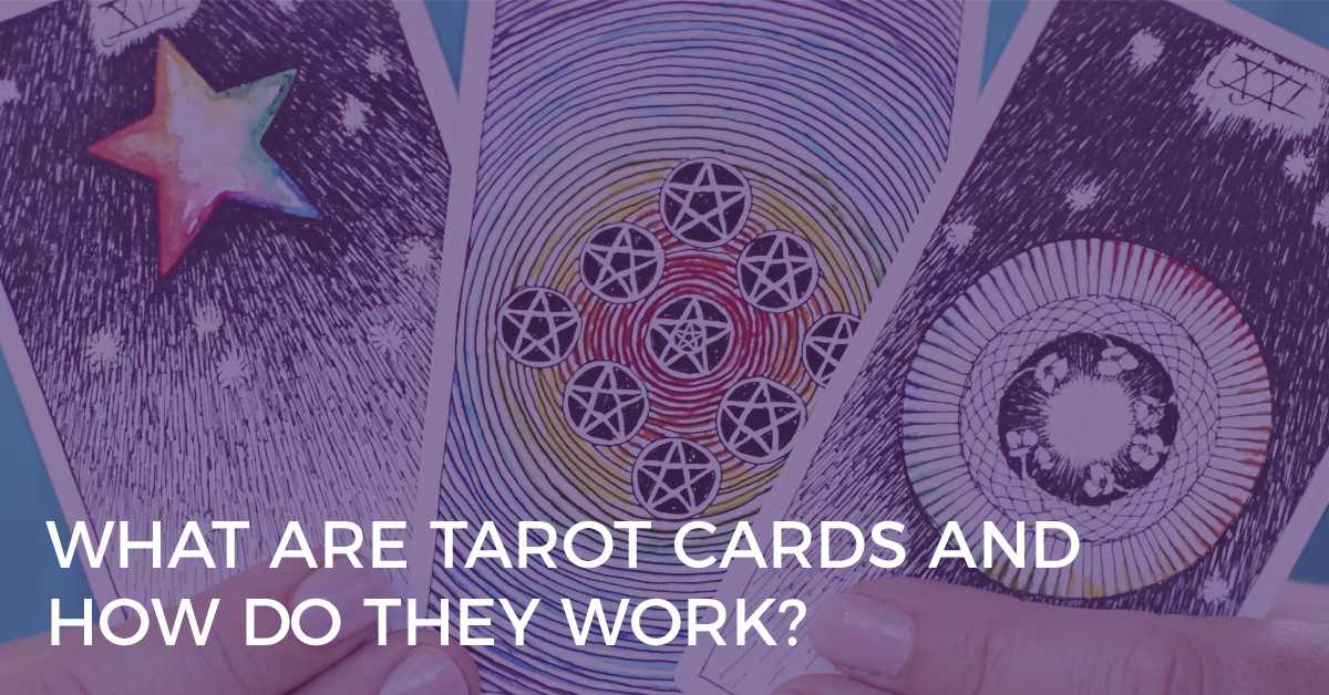 What Are Tarot Cards + How Do They Work? | Biddy Tarot Blog