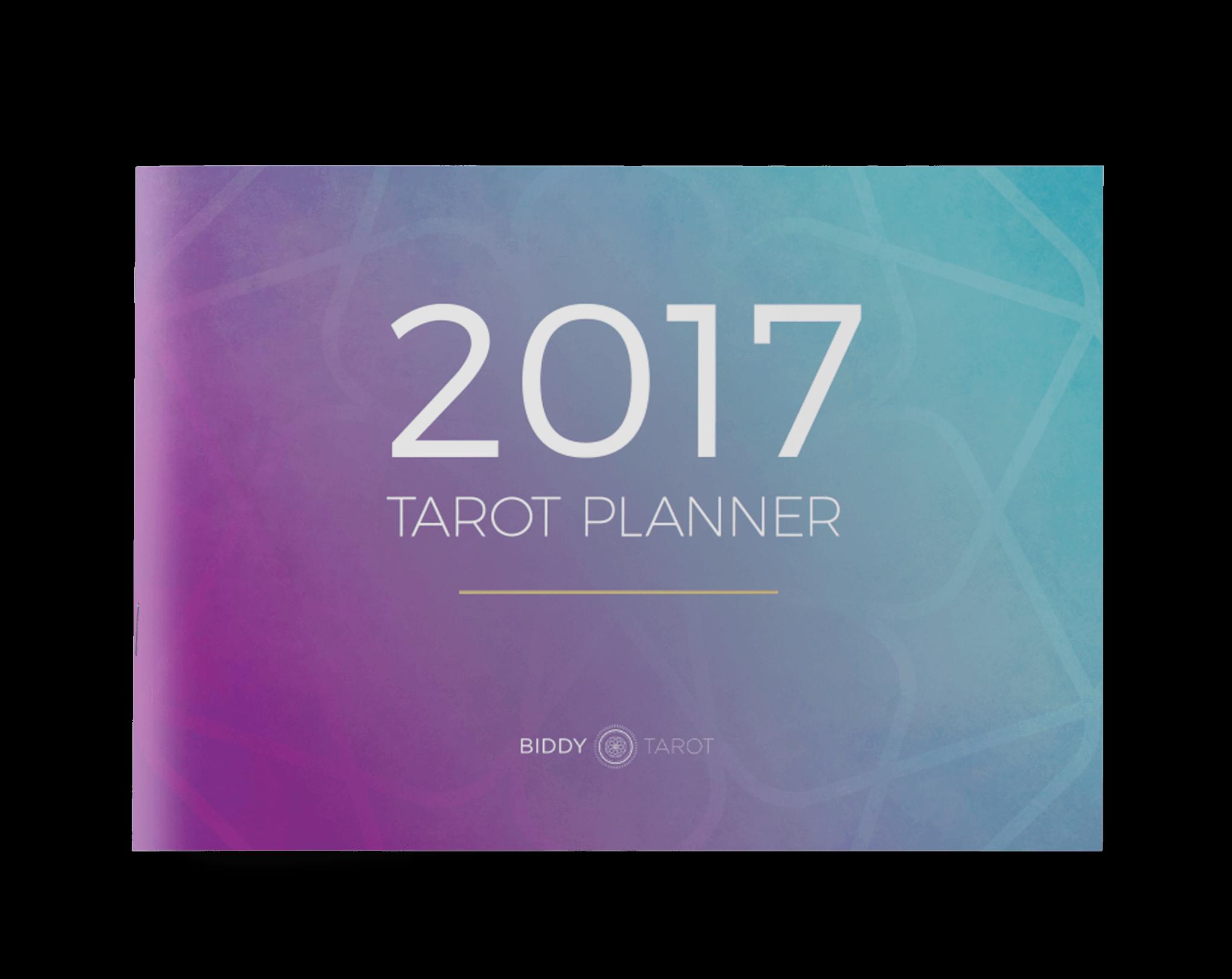 2017 Tarot Planner