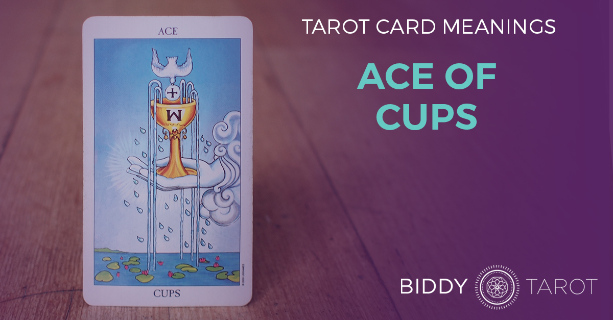 Ace of Cups Tarot Card Meanings