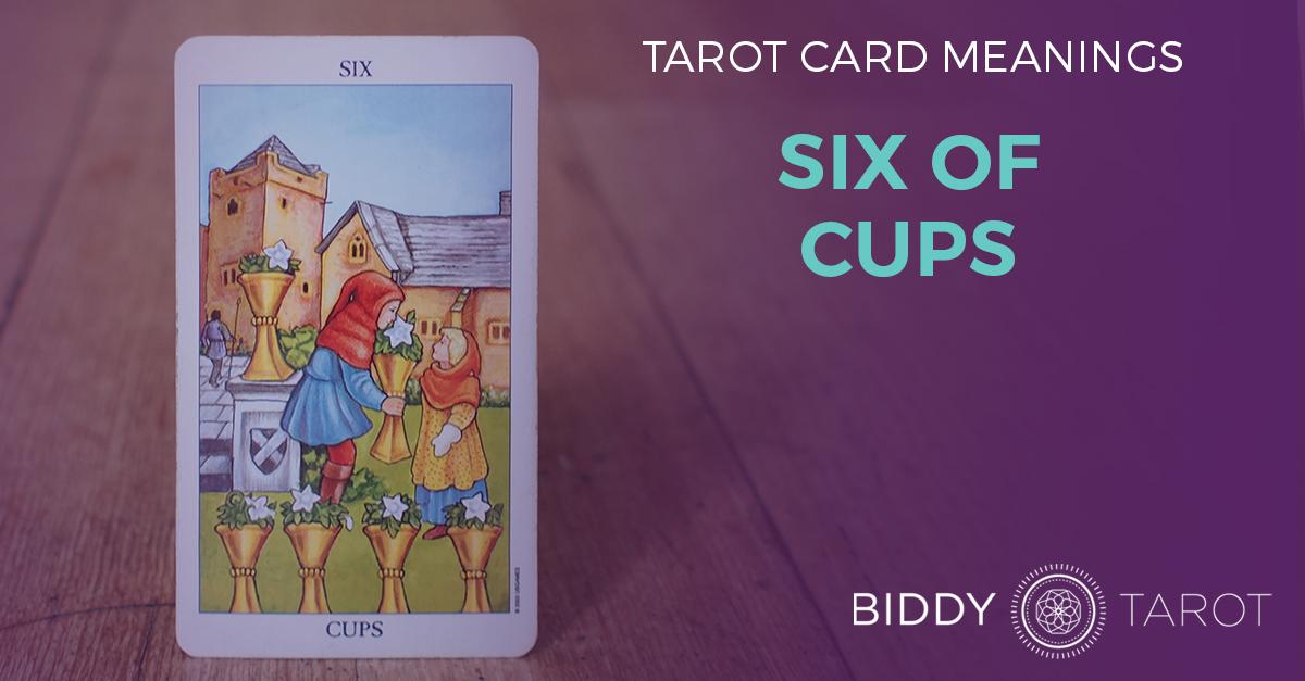 Six of Cups Tarot Card Meanings | Biddy Tarot