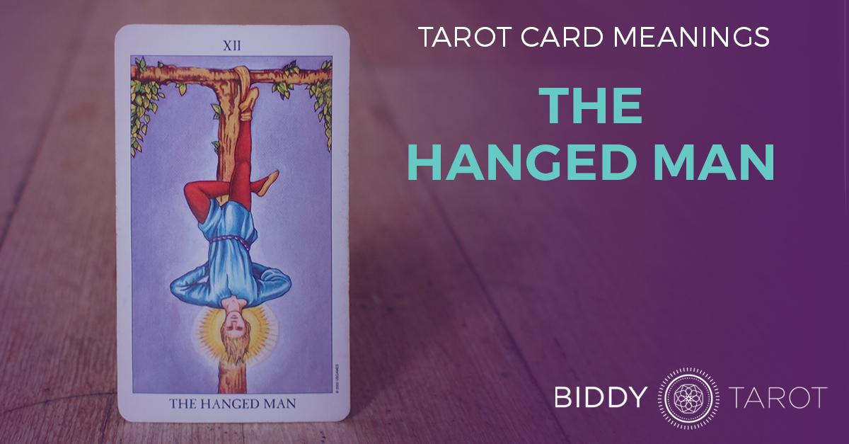 Hanged Man Tarot Card Meanings | Biddy Tarot
