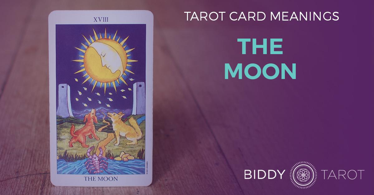 Moon Tarot Card Meanings | Biddy Tarot