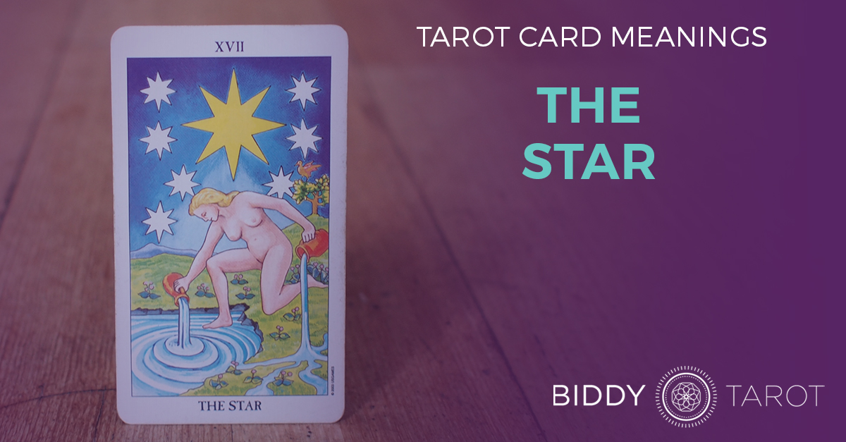 Star Tarot Card Meanings Biddy Tarot