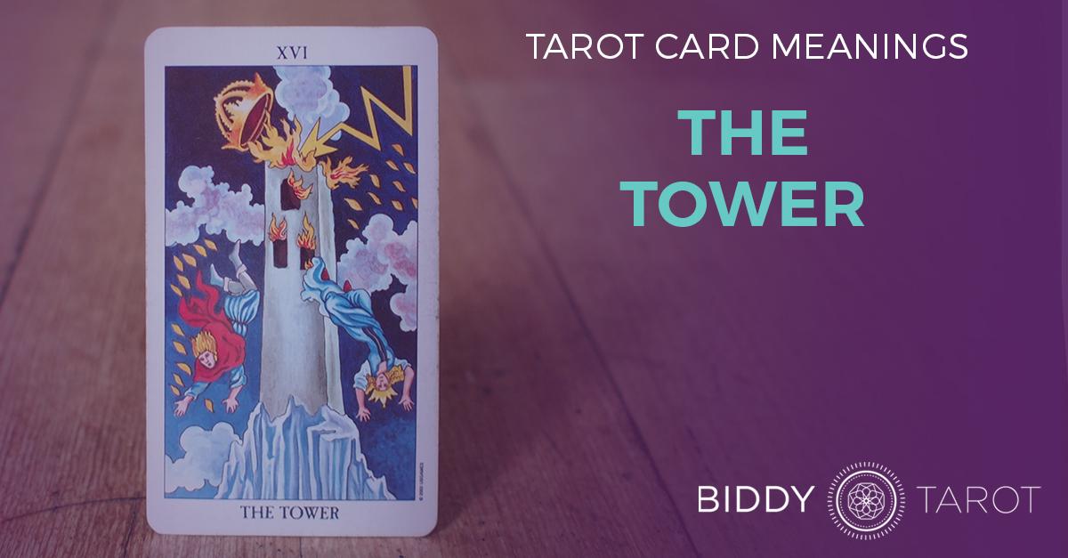 Tower Tarot Card Meanings | Biddy Tarot