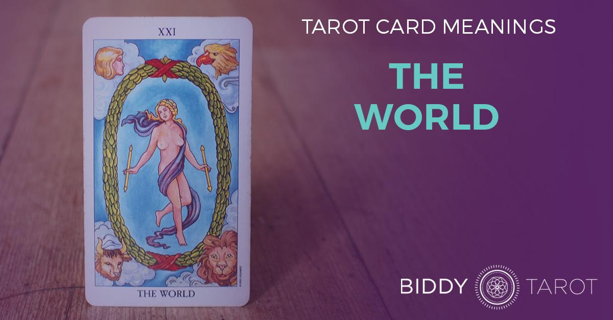 World Tarot Card Meanings Biddy Tarot