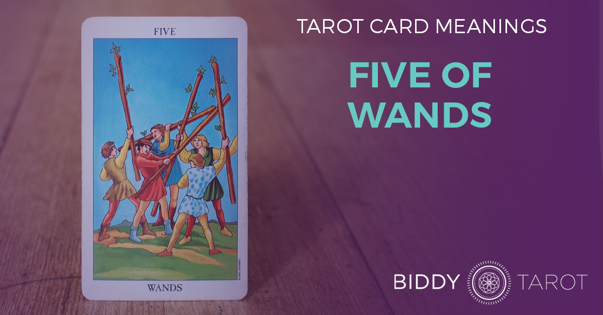 Five of Wands Tarot Card Meanings